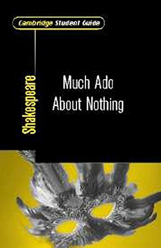 9780521008242: Cambridge Student Guide to Much Ado About Nothing (Cambridge Student Guides)