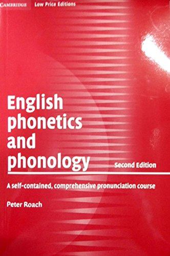 9780521008525: English Phonetics and Phonology (Cambridge low price editions)