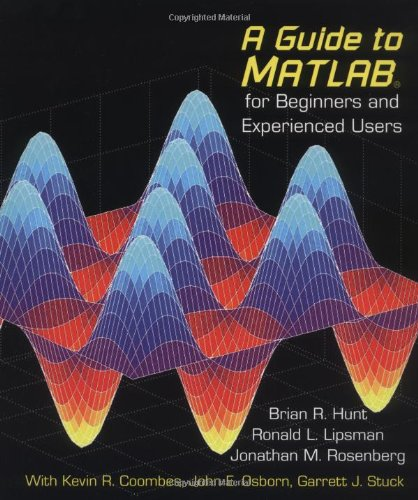 9780521008594: A Guide to MATLAB: For Beginners and Experienced Users