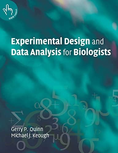 9780521009768: Experimntl Design Data Anl Biol 1ed