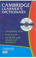 9780521009799: Cambridge Learner's Dictionary with CD-ROM India edition