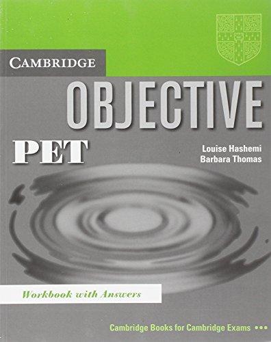 Objective: PET Workbook with answers: Louise Hashemi, Barbara
