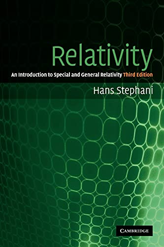 9780521010696: Relativity: An Introduction to Special and General Relativity