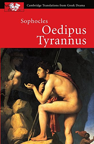 oedipus the king as the generic And now, o oedipus, our peerless king, all we thy votaries beseech thee, find some succor, whether by a voice from heaven whispered, or haply known by human wit.