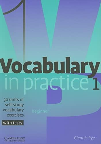 9780521010801: Vocabulary in Practice 1 (In Practice (Cambridge University Press))