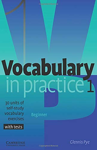 9780521010801: Vocabulary in Practice 1