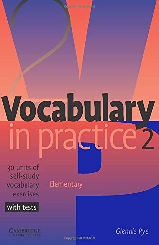 9780521010825: Vocabulary in Practice 2 (In Practice (Cambridge University Press))