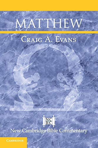 9780521011068: Matthew (New Cambridge Bible Commentary)