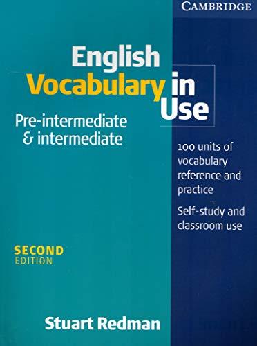 9780521011716: English Vocabulary in Use Pre-intermediate and Intermediate
