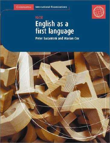 9780521011723: First Language English: IGCSE Coursebook (Cambridge International Examinations)