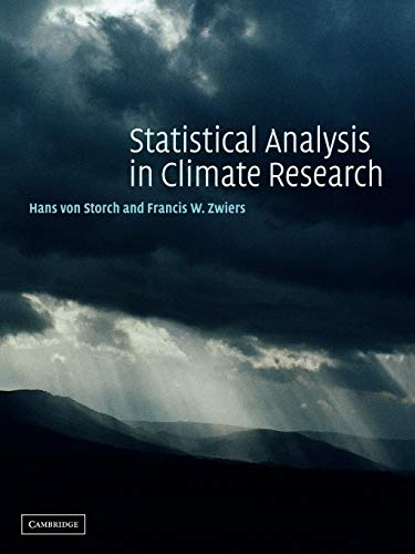 9780521012300: Statistical Analysis in Climate Research