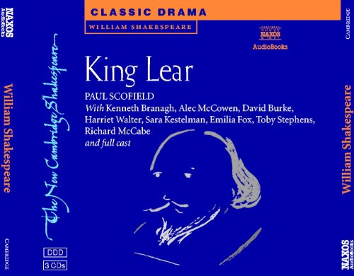 9780521012355: King Lear Set of 3 Audio CDs (New Cambridge Shakespeare Audio)