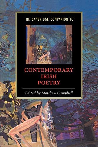 9780521012454: The Cambridge Companion to Contemporary Irish Poetry (Cambridge Companions to Literature)