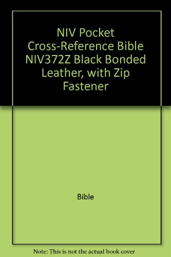 9780521012577: NIV Pocket Cross-Reference Bible NIV372Z Black Bonded Leather, with Zip Fastener