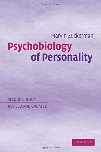 9780521016322: Psychobiology of Personality