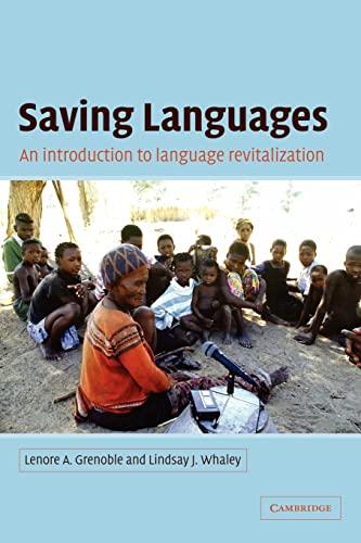 9780521016520: Saving Languages: An Introduction to Language Revitalization