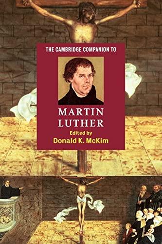 9780521016735: The Cambridge Companion to Martin Luther (Cambridge Companions to Religion)