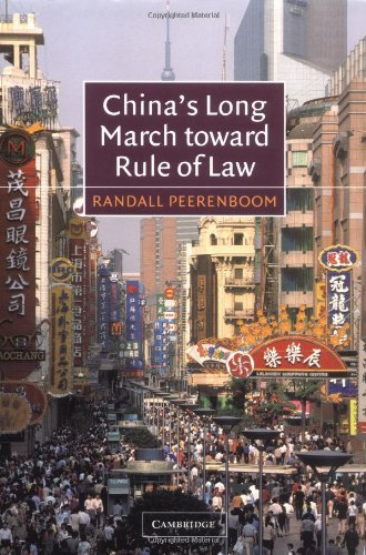9780521016742: China's Long March toward Rule of Law