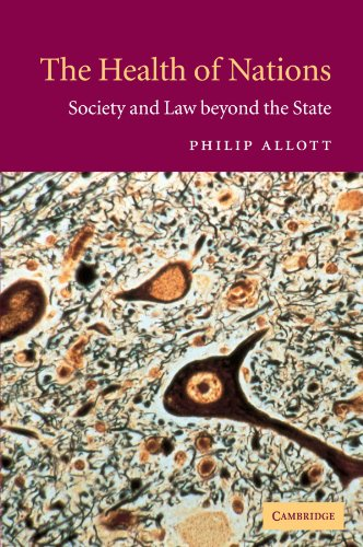9780521016803: The Health of Nations: Society and Law beyond the State