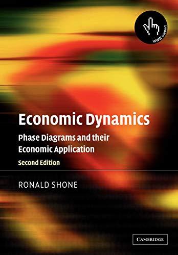 Economic Dynamics: Phase Diagrams and their Economic Application: Ronald Shone