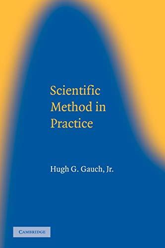 9780521017084: Scientific Method in Practice