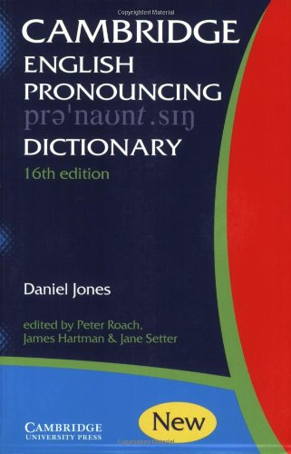 9780521017121: Cambridge English Pronouncing Dictionary
