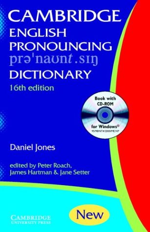 9780521017138: English Pronouncing Dictionary with CD-ROM