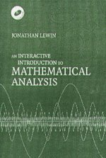 9780521017183: An Interactive Introduction to Mathematical Analysis Paperback with CD-ROM