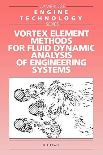 9780521017541: Vortex Element Methods for Fluid Dynamic Analysis of Engineering Systems