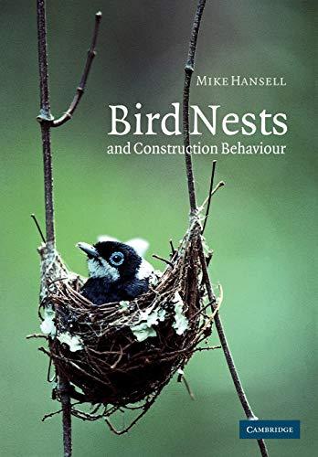 9780521017640: Bird Nests and Construction Behaviour