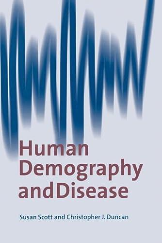 9780521017695: Human Demography and Disease