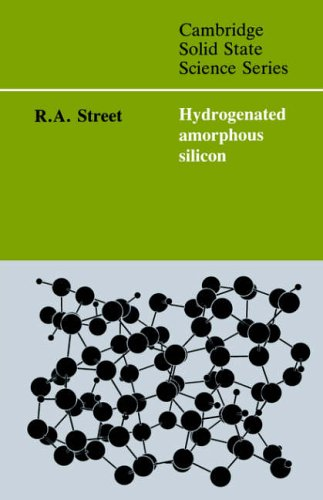 9780521019347: Hydrogenated Amorphous Silicon (Cambridge Solid State Science Series)
