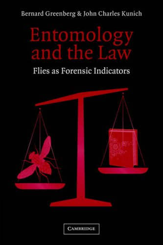 9780521019576: Entomology and the Law: Flies as Forensic Indicators