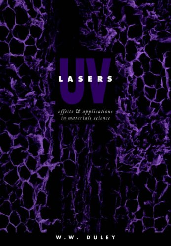 9780521020060: UV Lasers: Effects and Applications in Materials Science