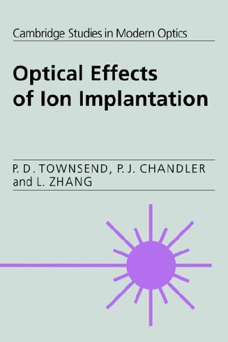 9780521020268: Optical Effects of Ion Implantation (Cambridge Studies in Modern Optics)
