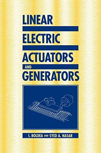 9780521020329: Linear Electric Actuators and Generators