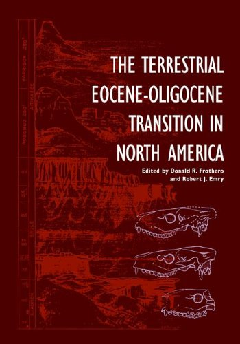 9780521021098: The Terrestrial Eocene-Oligocene Transition in North America