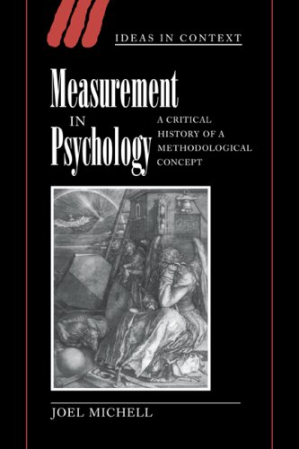 9780521021517: Measurement in Psychology: A Critical History of a Methodological Concept (Ideas in Context)