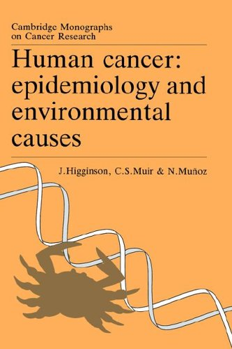 9780521021968: Human Cancer: Epidemiology and Environmental Causes (Cambridge Monographs on Cancer Research)