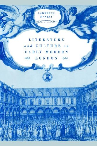9780521021975: Literature and Culture in Early Modern London