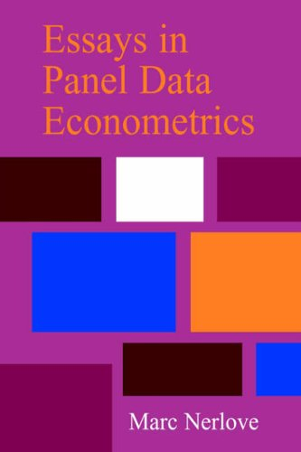 9780521022460: Essays in Panel Data Econometrics