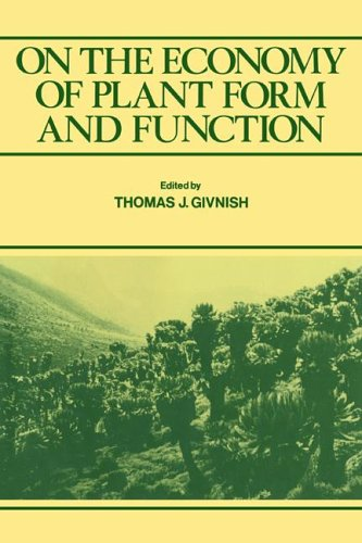 9780521022491: On the Economy of Plant Form and Function: Proceedings of the Sixth Maria Moors Cabot Symposium