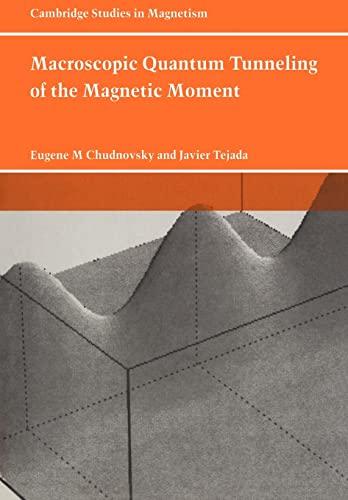 Macroscopic Quantum Tunneling Of The Magnetic Moment: EUGENE M. CHUDNOVSKY