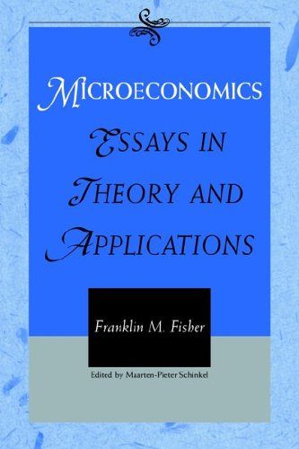 9780521023290: Microeconomics: Essays in Theory and Applications