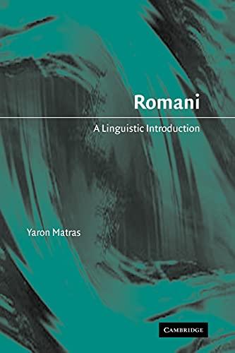 9780521023306: Romani: A Linguistic Introduction