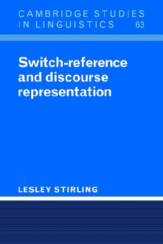 9780521023436: Switch-Reference and Discourse Representation (Cambridge Studies in Linguistics)