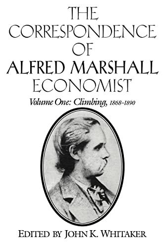 9780521023566: The Correspondence of Alfred Marshall, Economist (The Correspondence of Alfred Marshall, Economist 3 Volume Set)
