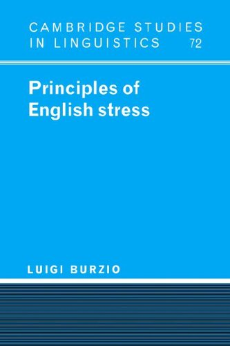 9780521023801: Principles of English Stress (Cambridge Studies in Linguistics)