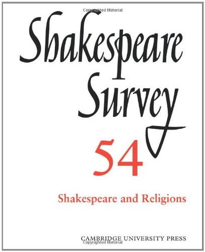 9780521023986: Shakespeare Survey: Volume 54, Shakespeare and Religions: Shakespeare and Religions v. 54