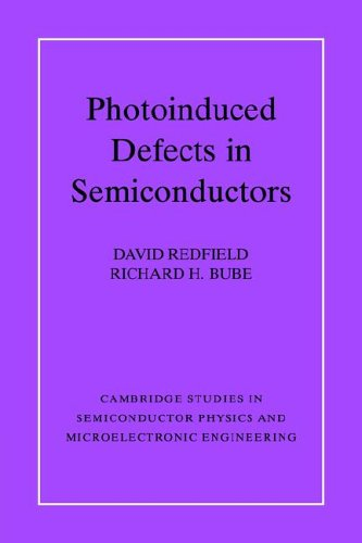 9780521024457: Photo-induced Defects in Semiconductors (Cambridge Studies in Semiconductor Physics and Microelectronic Engineering)